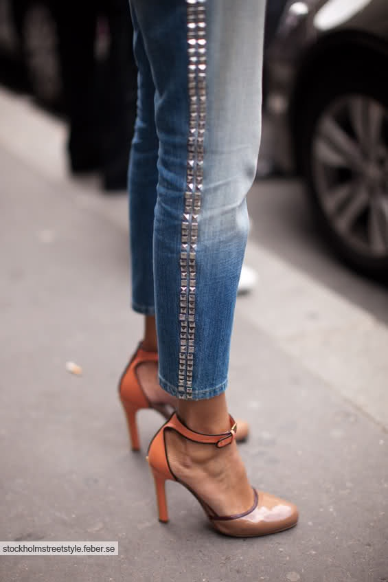 Studded Jeans