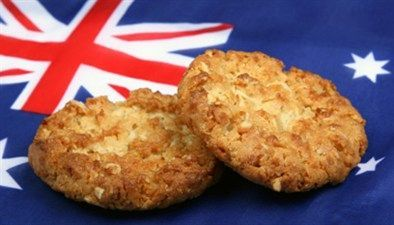 Healthy ANZAC biscuits - Kasey Willson