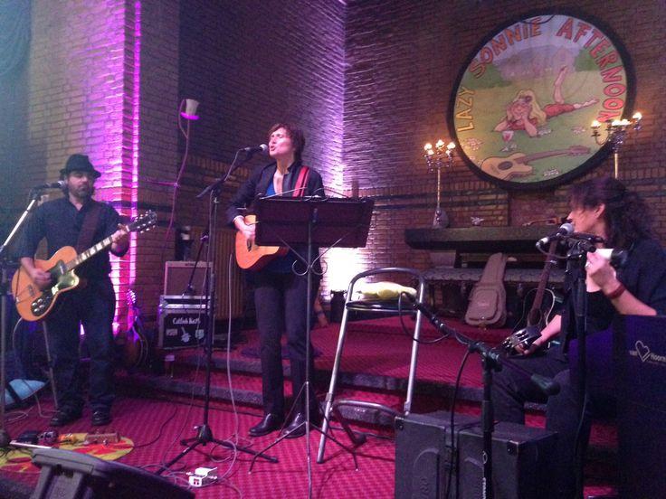 Annie Keating Trio 4 oktober 2015 uit Brooklyn, New York.