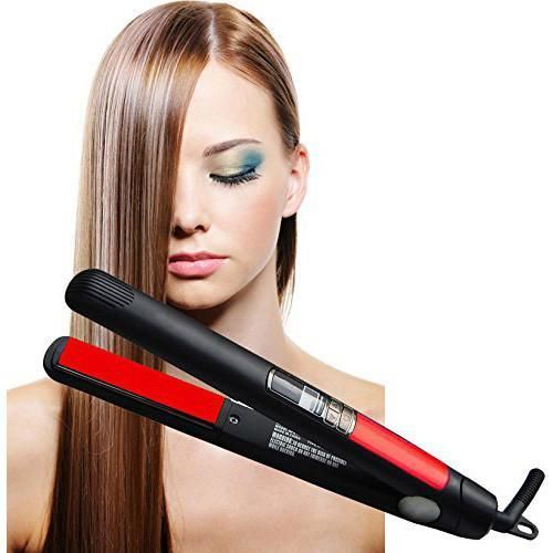 ISA Professional Digital Flat Iron Hair Straightener