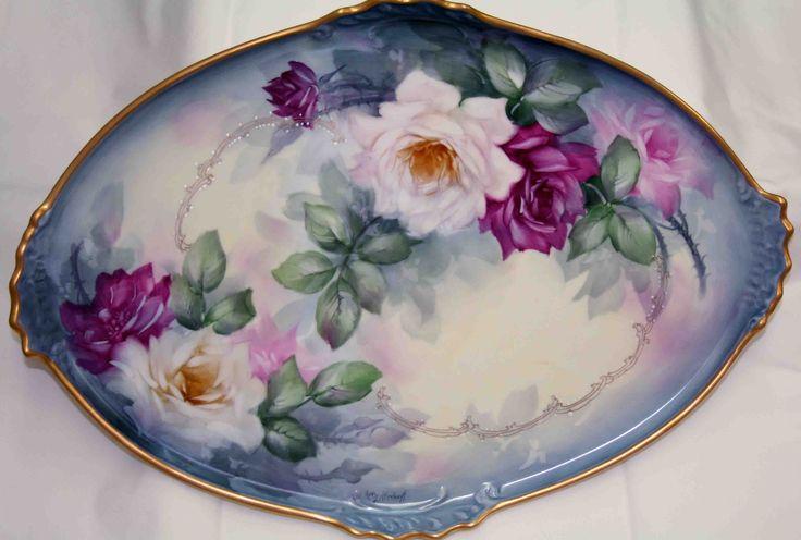 Ann Zitterkopf Studio Studies China Hand Painted China Painting Hand Painted Plates