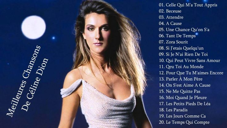 Celine Dion: Best French Songs Of Celine Dion[Top 30 songs]