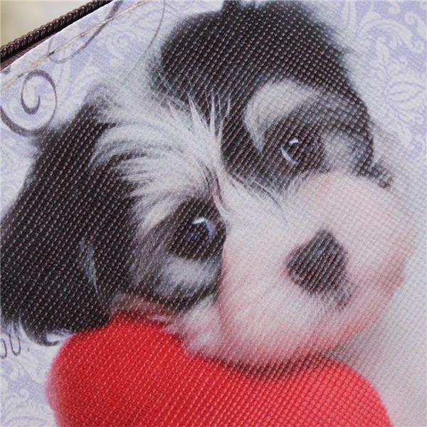 Cute Cat Dog Coin Purse Wallet - US$4.66