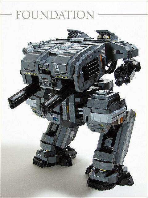 FOUNDATION Class Heavy Assault Mech | Flickr - Photo Sharing!