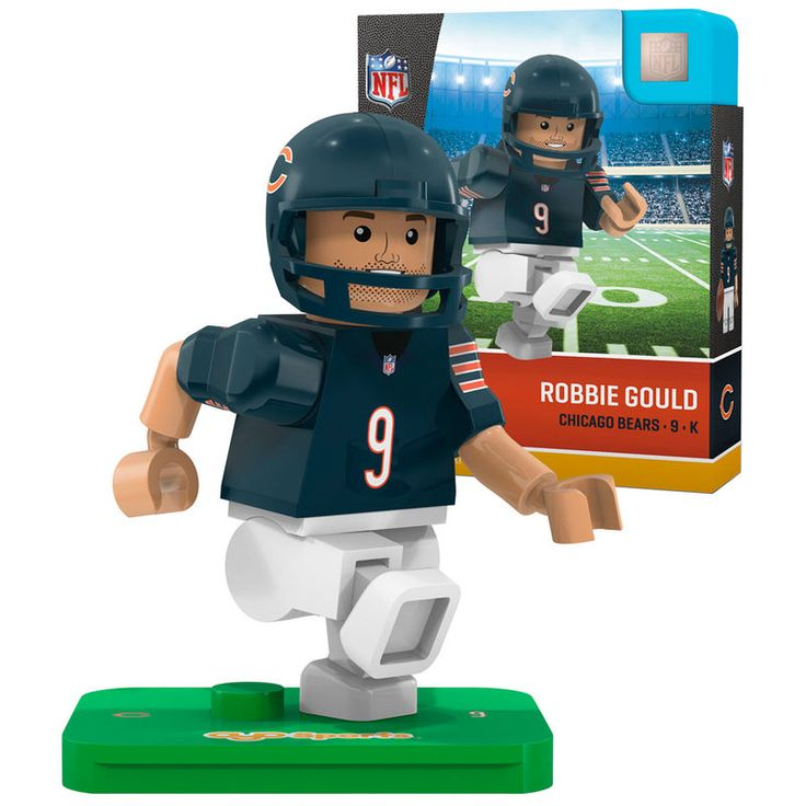 Robbie Gould Chicago Bears OYO Sports Generation 5 Player Minifigure
