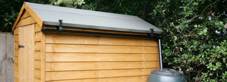 17 Images About Shed Gutters On Pinterest To Fix Rain Catcher And
