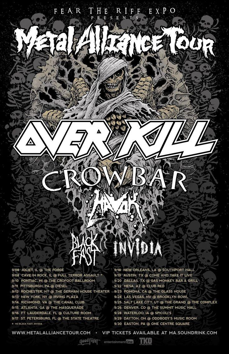 La banda de Metal de Las Vegas INVIDIA se unirá a Over Kill, Crowbar y otros en el próximo Metal Alliance Tour Puede parecer trivial, pero INVIDIA es verdaderamente una hermandad. Cada miembro de esta hermandad tiene una historia y cuando se reunieron para hacer As The Sun Sleeps, sabían...