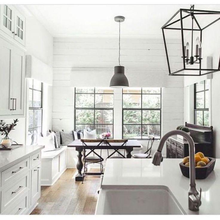 40 Small Kitchen Design Ideas: Best 25+ White Grey Kitchens Ideas On Pinterest
