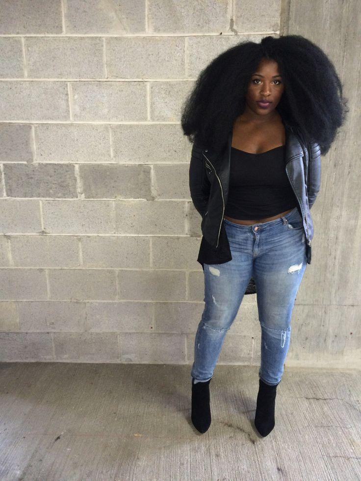 Black Fashion Style Pinterest Black Girls Natural