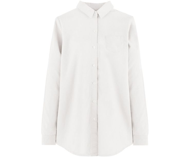 Preppy and perfect for layering, this button-up shirt boasts classic features such as a point collar, one mini chest pocket, long sleeves with buttoned cuffs, and a casual fit. With a solid tone for easy matching, this shirt would blend well with both cas