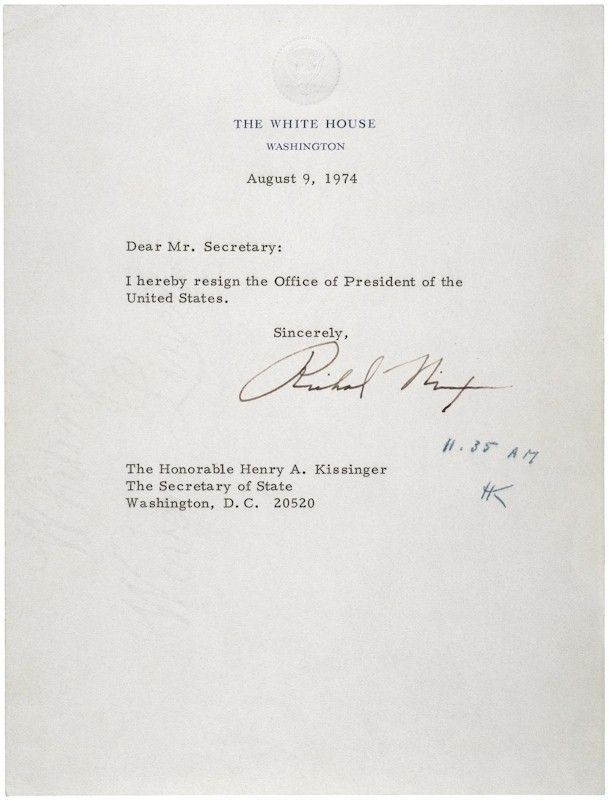 65 best Watergate images on Pinterest Scandal, 1970s and American - nixon resignation letter
