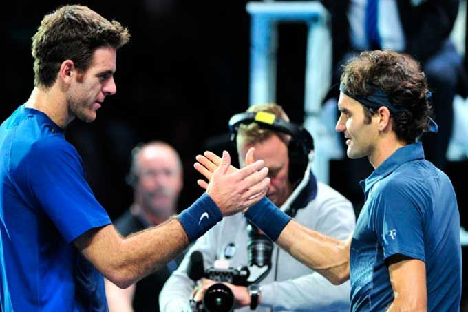 Federer y Del Potro se enfrentan en cuartos de final del US Open #Deportes #Tenis