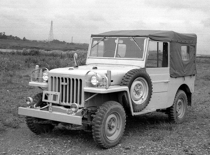 При разработке первого поколения внедорожника специалисты концерна Toyota воспользовались концепцией легендарного Willys MB