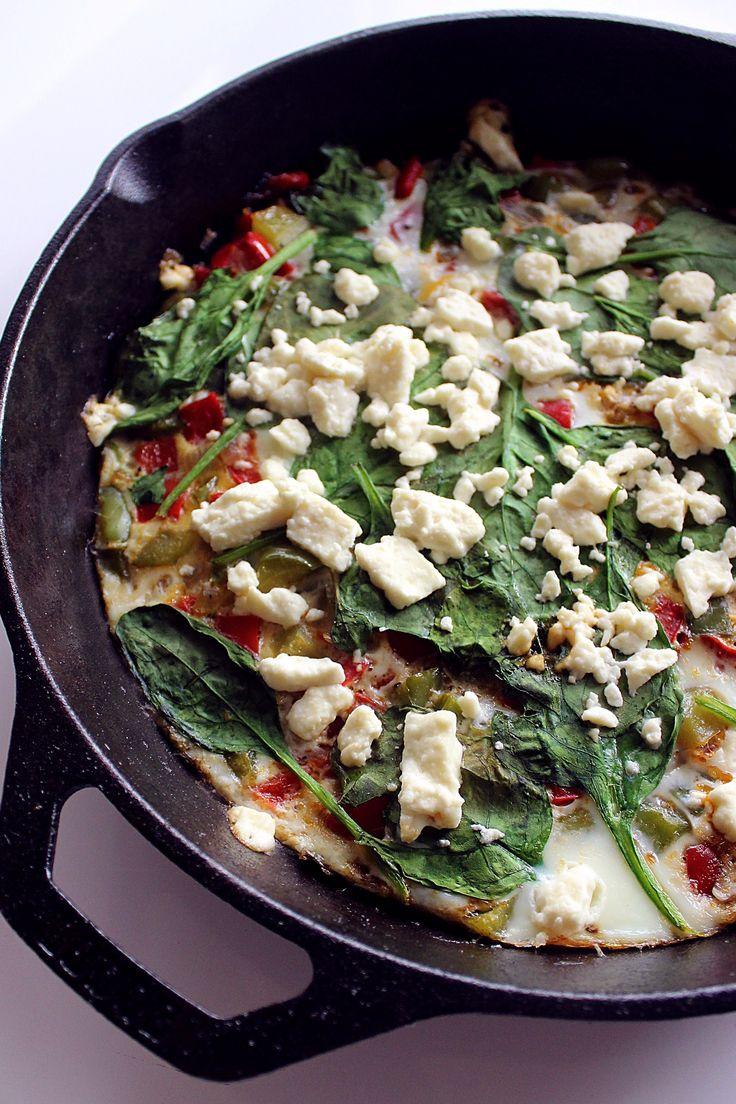 ... White Frittata on Pinterest | Spinach Egg, Frittata Recipes and Eggs