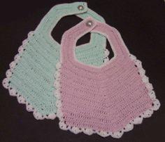 Crochet Baby Bib | Free Craft Project