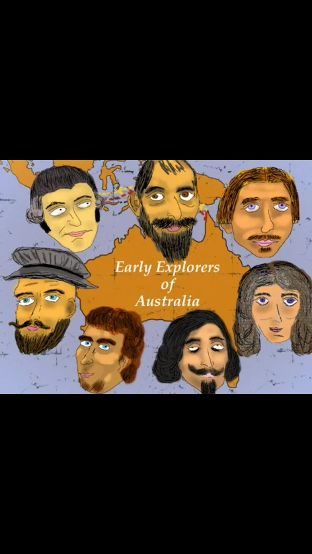 Learn about the Early Explorers of Australia. http://m.youtube.com/watch?v=OxKtrrNlQoQ