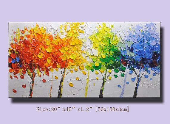 contemporary wall painting Modern Thick Textured von xiangwuchen