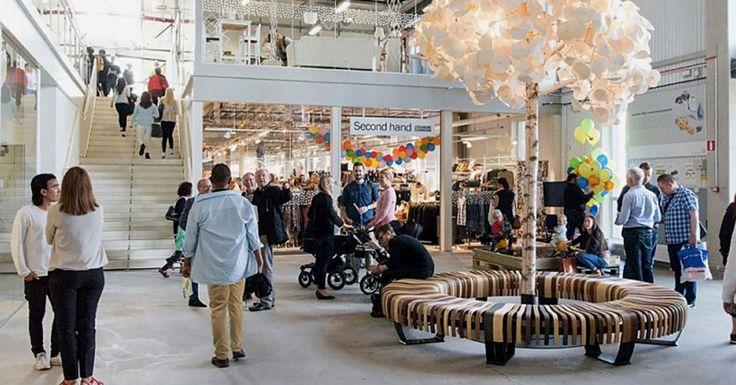 Le ReTuna Återbruksgalleria donne une nouvelle vie aux vieux objets, offre du travail aux sans-emploi et fait faire des économies aux collectivités. Top !