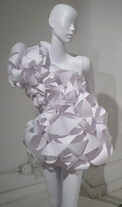 Robe de papier #robe #papier #paperart