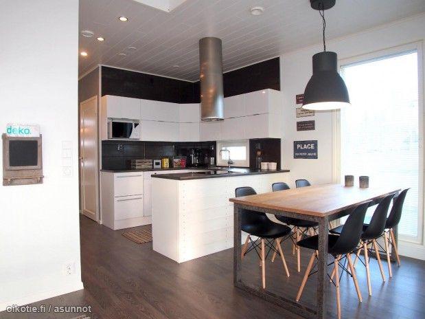 Myytävät asunnot, Saniaiskatu 7, Lahti #oikotieasunnot #keittiö  Kitchens