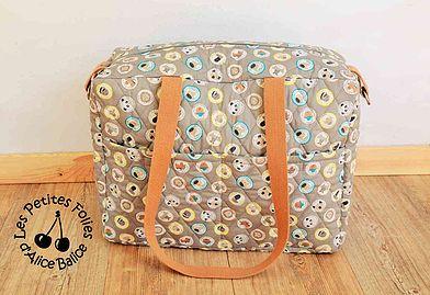 Tuto gratuit sac à langer alice balice