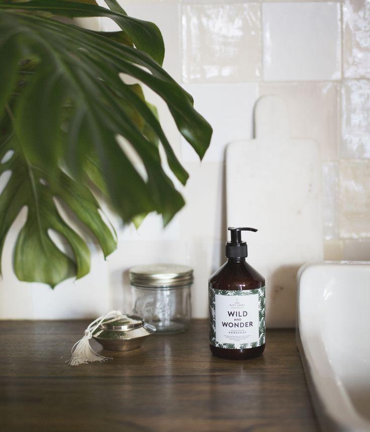 TheGiftLabel: Wild And Wonder #Handsoap #Kitchen #Gift #TGL #Amsterdam #Inspiration #Pinterest