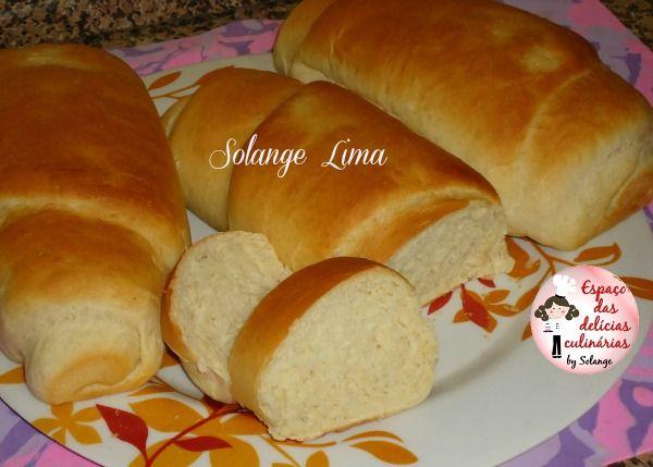 Pão caseiro   mais um pão delicioso e fofinho saindo...