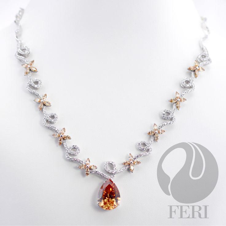 Feri 950 Siledium Silver- Floating Petals Necklace