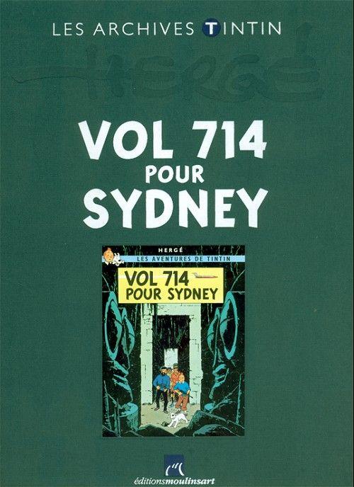 Vol 714 pour Sydney (1968) , c'est le voyage interrompu, le détournement qui bouleverse tout, l'incursion de Tintin et de ses compagnons dans l'inconnu, dans un monde irréel animé par des phénomènes télépathiques, c'est le contact incroyable avec des extra-terrestres et la sortie d'un rêve... Mais en est-ce bien un ? Djakarta, dernière escale avant Sydney pour le Boeing vol 714.