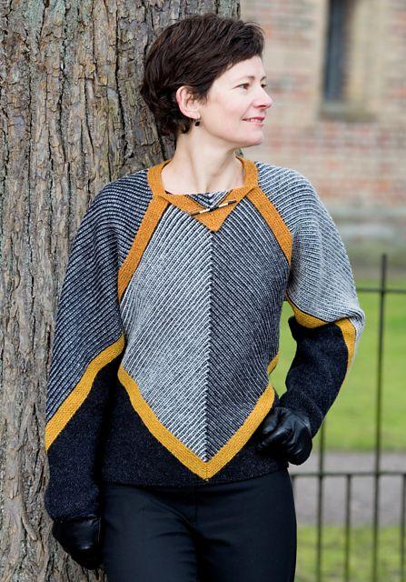 Ravelry: CITY (pullover) pattern by Vivian Høxbro