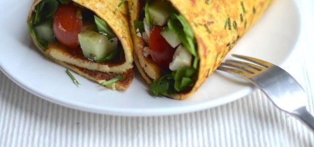 Omelet Wrap -