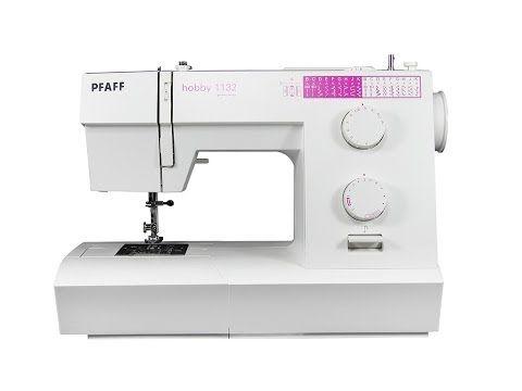 ▶ PFAFF hobby 1132 Nähmaschine deutsch - YouTube  just got this machine :)
