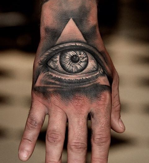 30 Mysterious Illuminati Tattoo Designs - Enlighten Yourself Check more at http://tattoo-journal.com/best-illuminati-tattoo-designs-meaning/