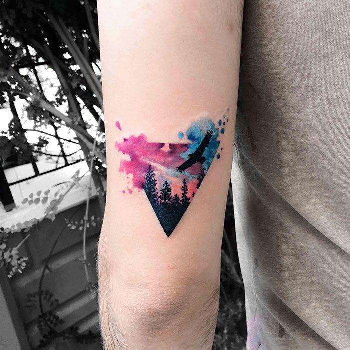 tatuaje pajaro