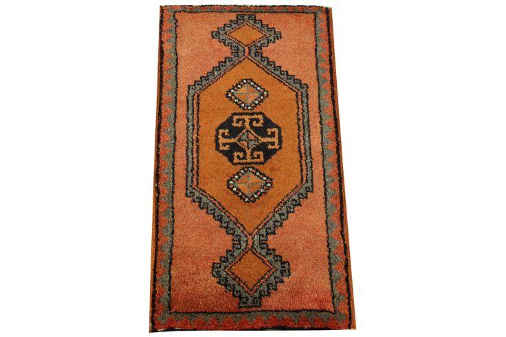 Doormats Turkish rugs handmade 3,3 x 1.7 Feet Handmade Vintage bathmats Small size rugs Throw Rug Anatolian rug natural dye wool rug HY-41 by stripepattern on Etsy