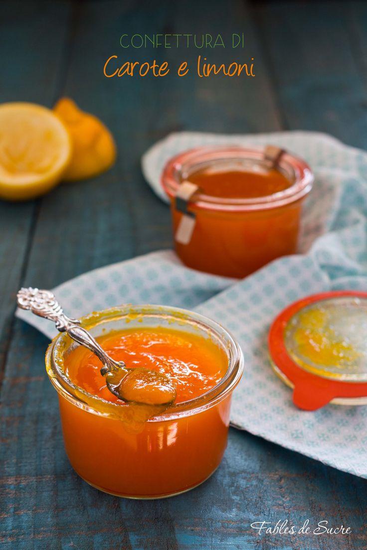 Confettura+di+carote+e+limoni+home+made