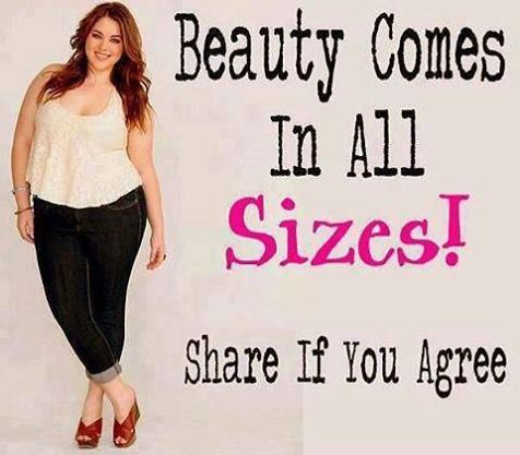We firmly believe that beauty comes in all sizes.