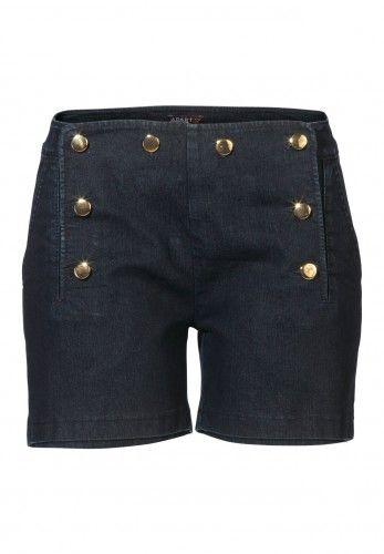 Edle Jeans-Shorts