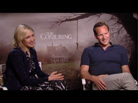 Vera Farmiga & Patrick Wilson - The Conjuring Interview HD The Conjuring movie info: http://www.tribute.ca/movies/the-conjuring/32484/
