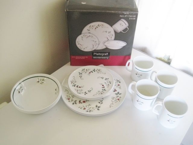 Pfaltzgraff Winterberry 16 Piece Dinnerware Set * Melamine Starter Set #F1793100 #Pfaltzgraff & 78 best pfaltzgraff images on Pinterest | Dinnerware Cutlery and ...