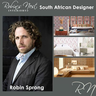 Robins Nest Interiors feature South African designer: Robin Spring. Robin Sprong Wallpaper is a Surface Design company that specializes in creating incredible imagery for interiors. Read more here: http://on.fb.me/1dZJALn #robinsprong #design #interior