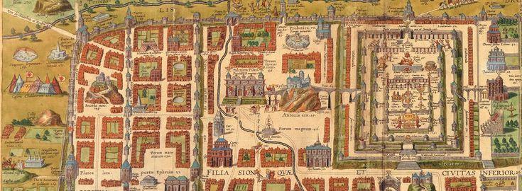 Historische Landkarten Jerusalem