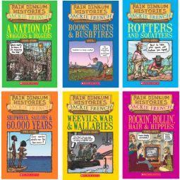 Australian History Fair Dinkum Histories Books Set of 6