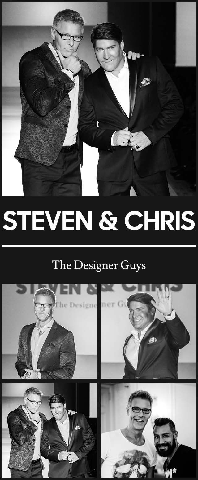 Steven + Chris at TOM* Toronto Men's Fashion Week SS15 MENSFASHION4HOPE Celebrity Charity Fashion Show to benefit The Kole Hope Foundation for children. #ILOVETOM #IAMTOM #LOVECANADIANFASHION http://WWW.TOMFW.COM