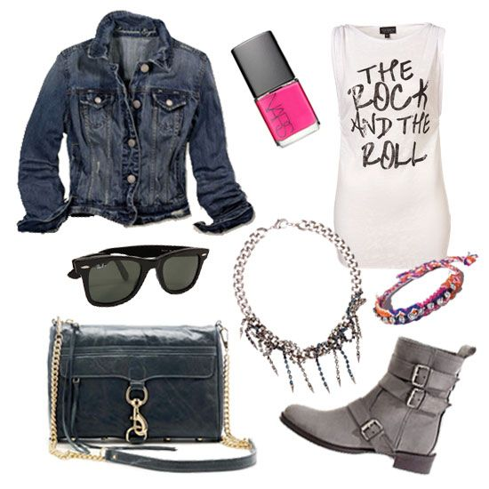 Perfect outfit for a concert: Style Boots, Fashion, Summer Concerts Outfits, My Families, Denim Jackets, Outfits Style, Rocks, Boots Tees, I D Wear