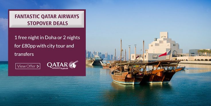 Experience Doha with the Qatar Stopover Programme, Hurry! Limited period offer, to book please call us on 0208 819 1123 or Visit at  http://www.brightsun.co.uk/offers/doha-stopover