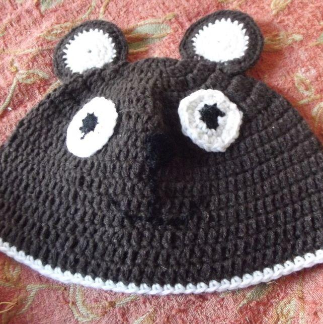 Bear Beanie 12 - 18 Month Photo Prop £8.95