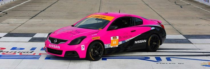 CRG Nissan Altima Coupe takes part in Continental Tire SportsCar ...