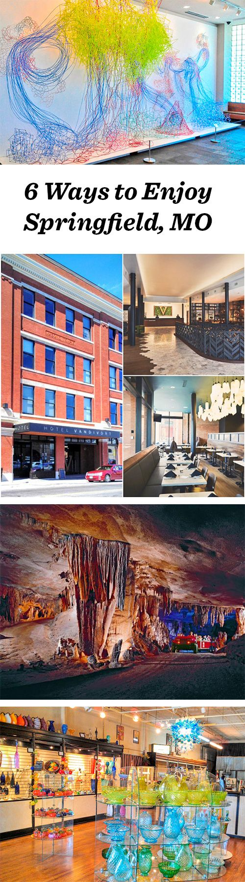 Check out beautiful art, explore an underground cave, and fall in love with Springfield, MO in our latest blog: http://www.midwestliving.com/blog/travel/6-ways-to-enjoy-springfield-missouri/