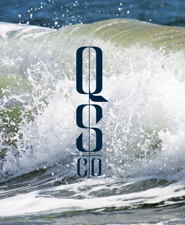 Quantum Surf Co. by Blake Fritz, via Behance